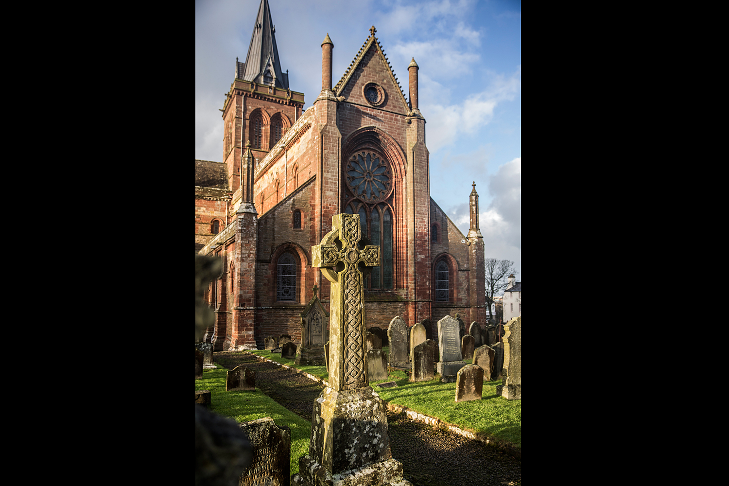 Kirkwall St Magnus Celtic Cross